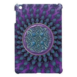 Original Metallic Celtic Knot Fractal Design Case For The iPad Mini