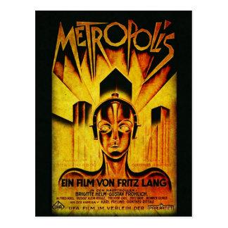 Original METROPOLIS RESTORED Adaptation Postcard