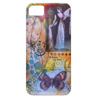 Original Mixed Media Art Iphone Case iPhone 5 Cover