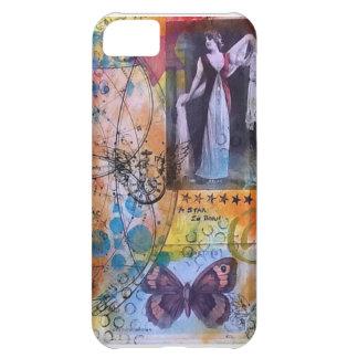 Original Mixed Media Art Iphone Case Cover For iPhone 5C