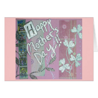 Original Mom's Day Collage Greeting Card