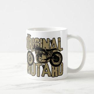 Original Motard (blk & gld) Classic White Coffee Mug