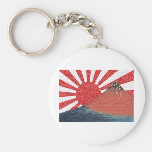 Original Mount Fuji Design Keychain