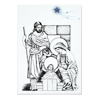 Original Nativity Invitation