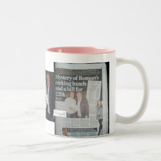 Original Nello - Roman Abramovich limited edition Two-Tone Coffee Mug