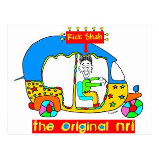 Original NRI- RickShah Postcard