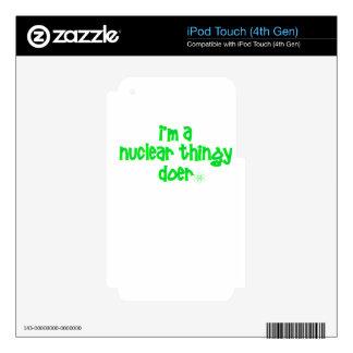 Original Nuclear Design iPod Touch 4G Skin