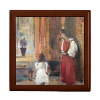 Original Oil Painting by R.V. Cassill Jewelry Box