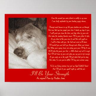 original old dog pet sympathy poem poster