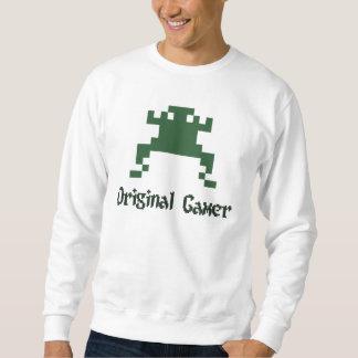 Original old school gamer sweatshirt