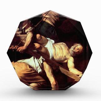 """Original paint """"La crocifissione di s Pietro"""" Award"""