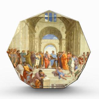 "Original paint ""The school of Athens"" by Raffaello Acrylic Award"