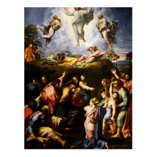 "Original paint ""the Transfiguration"" Raffaello Postcard"