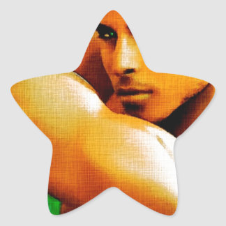 Original Painting -Arabian Nights Star Sticker