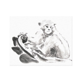 Original Painting Chinese Monkey Year 2016 Canvas
