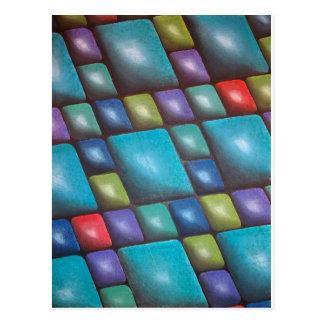Original Painting: Harmony In Blue Postcard
