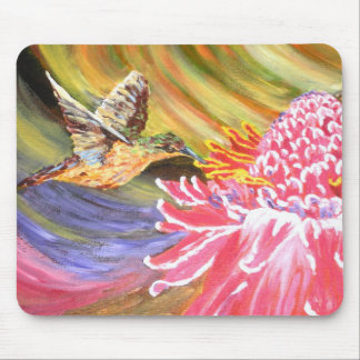 "Original Painting- ""Ho Hum"" Mousepad"