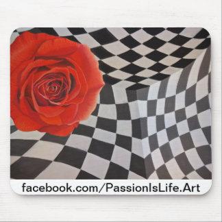 Original Painting: Juxtaposition Mouse Pad