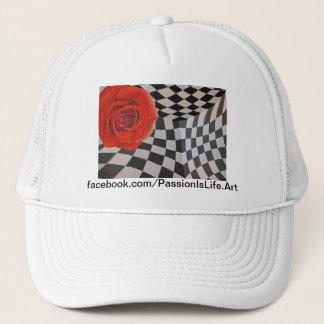 Original Painting: Juxtaposition Trucker Hat