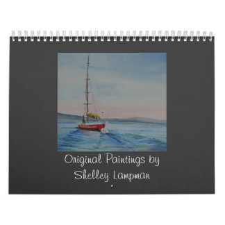 Original paintings by Shelley Lampman Calendar