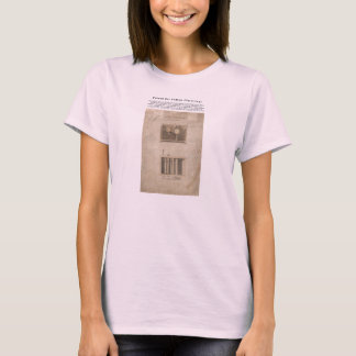 ORIGINAL Patent for the Cotton Gin (1794) T-Shirt