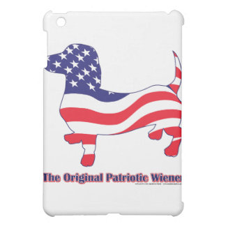 Original Patriotic Wiener/Dachshund Cover For The iPad Mini