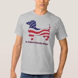 Original Patriotic Wiener/Dachshund T-Shirt