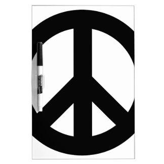 Original Peace Design Logo Product Dry-Erase Board