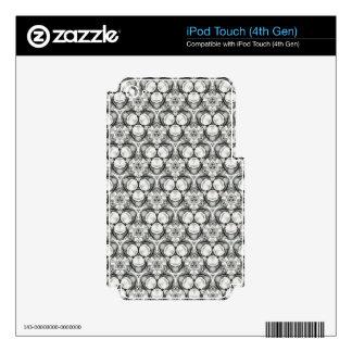 original pencil pattern ipod touch skin 388