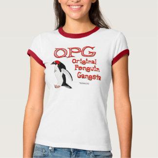 Original Penguin Gangsta Ladies Ringer T T-Shirt