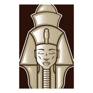 Original pharaoh egyptian ruler stationery