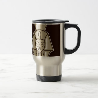 Original pharaoh egyptian ruler travel mug