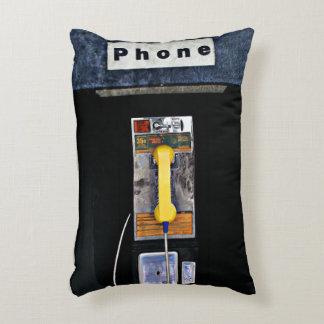 Original phone booth accent pillow