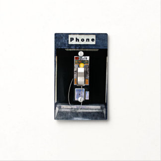 Original phone booth light switch cover