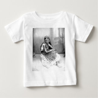 Original photo of Indian girl in Trinidad 1890 Baby T-Shirt