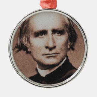 Original photo of Liszt, virtuoso pianist Metal Ornament