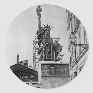 Original photo of the Statue of liberty in Paris Stickers