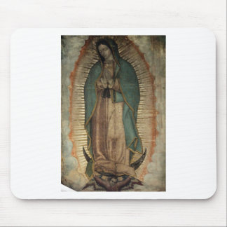 Original Picture of Our Lady of Guadalupe Mouse Pad