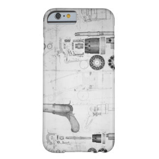 Original plans for a ten-chamber revolver which la iPhone 6 case