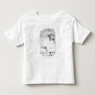 Original plans for a ten-chamber revolver which la t shirt