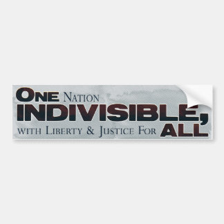 Original Pledge of Allegiance Bumper Sticker