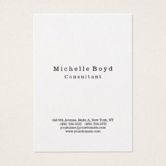 Original Professional Stylish Modern Minimalist Business Card