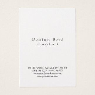 Original Professional Stylish Modern Personal Business Card