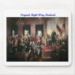 Original Right Wing Radicals Mouse Pad