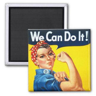 Original Rosie The Riveter Magnet