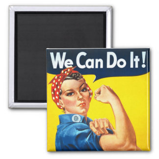 Original Rosie The Riveter Magnet