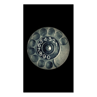 original rotary phone Double-Sided standard business cards (Pack of 100)