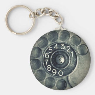 original rotary phone keychain