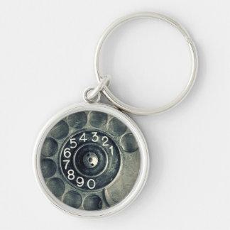 original rotary phone keychains