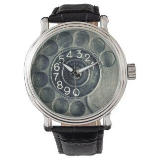 original rotary phone wrist watch